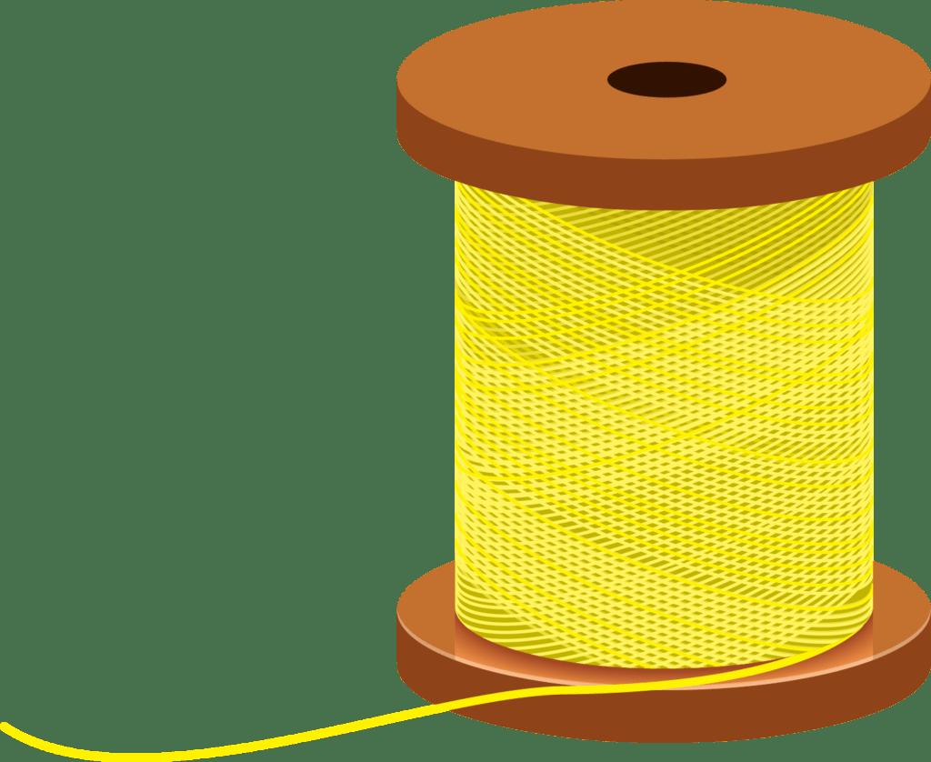 Yellow Spool of Thread