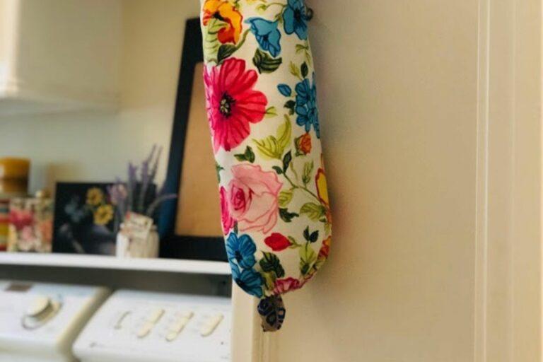 Easy to Sew Plastic Bag Dispenser