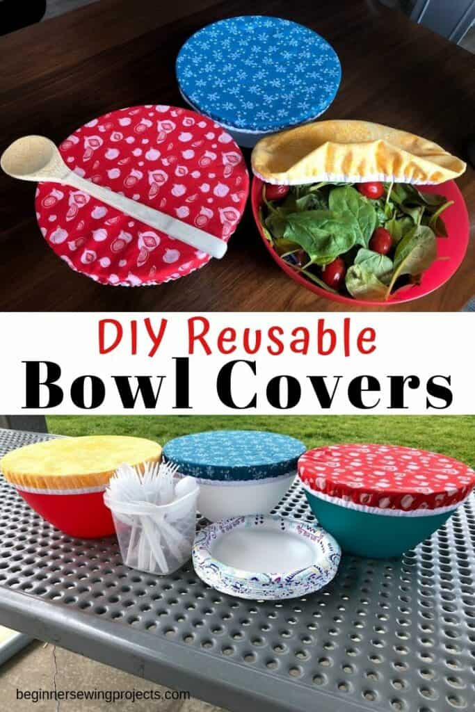 Make Your Own Elastic Bowl Covers
