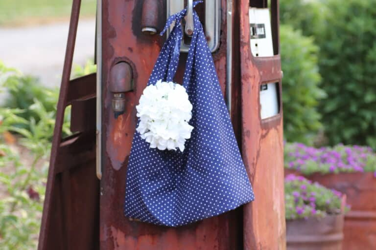 Easy Pillowcase Bag Upcycle – Beginner Sewing Projects