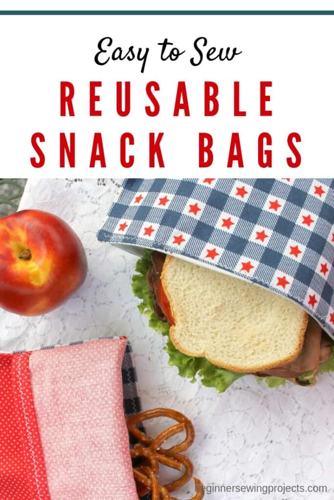 Reusable Snack Bag DIY 01