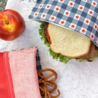 Reusable Snack Bags DIY for Less Waste