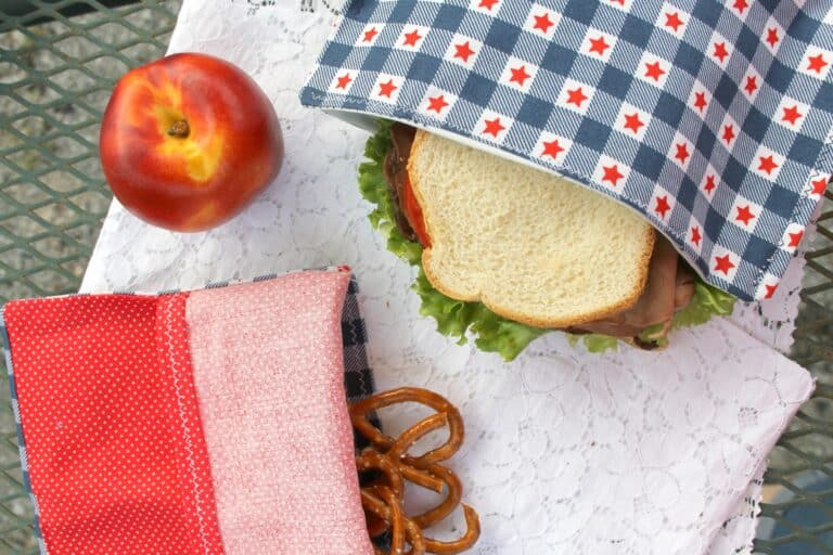 Reusable Snack Bags DIY for Zero Waste – Beginner Sewing Projects