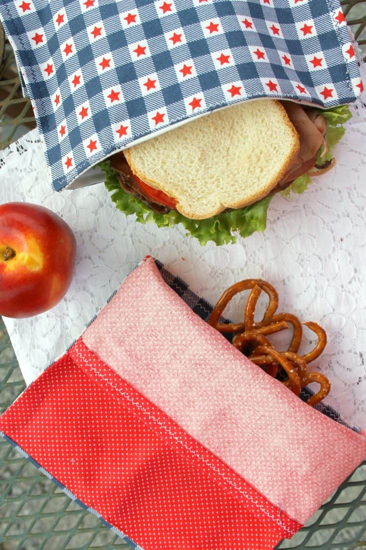 Reusable Snack Bag DIY 4