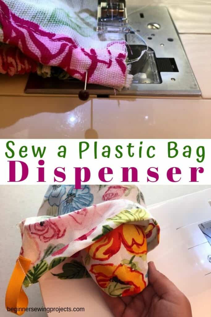 How to Sew a Plastic Bag Dispenser