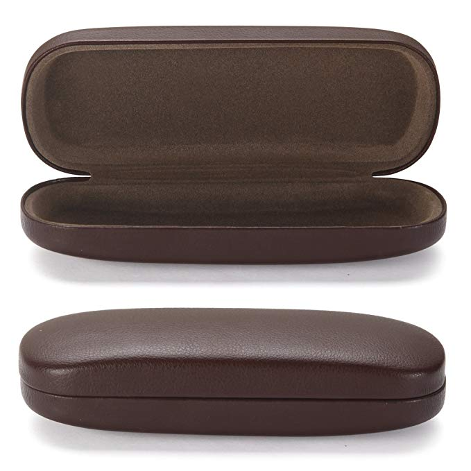ALTEC VISION Glasses Case - Medium Size - Fits Most Glasses and Sunglasses Case