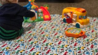 Beyond Easy Flannel Baby Blanket How To