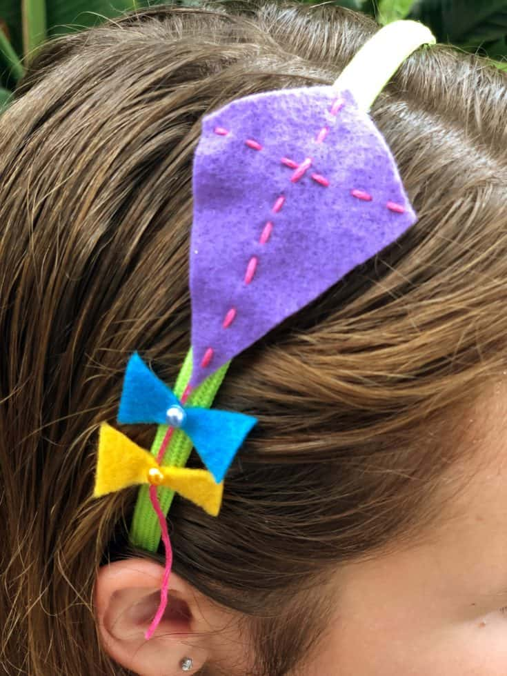 Felt Kite Headband for Kids