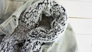 DIY Sherpa Infinity Scarf Tutorial