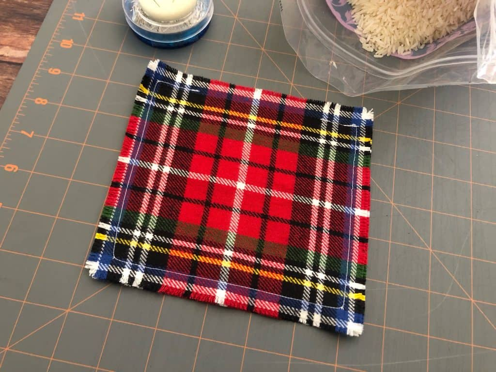 Sew Rice Hand Warmers