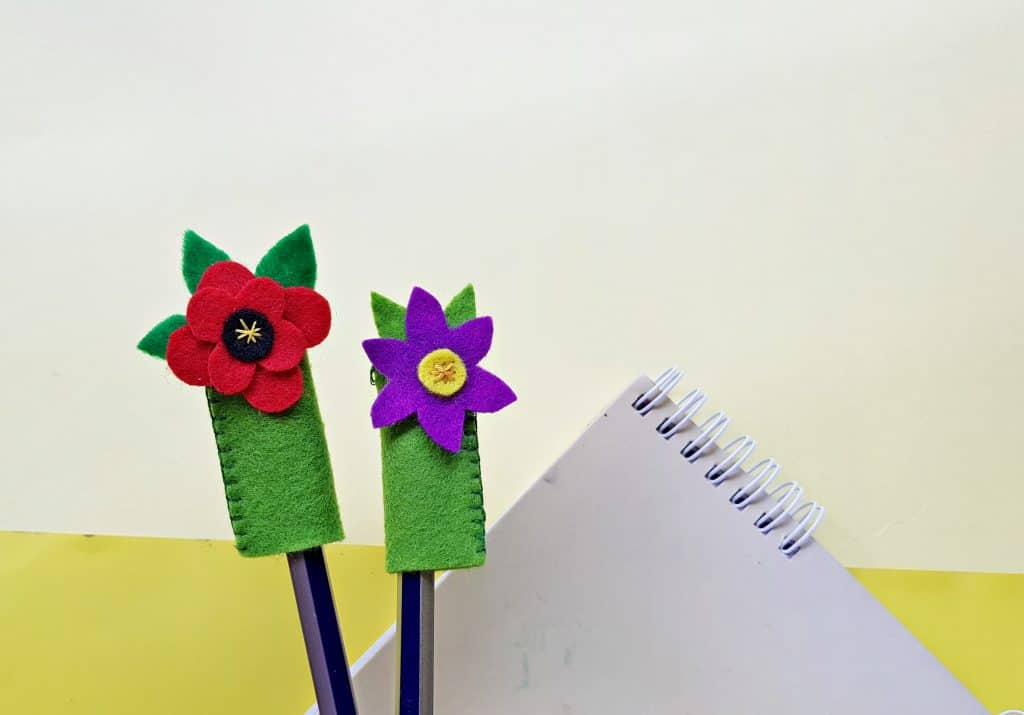 Flower Pencil Topper Craft for Kids