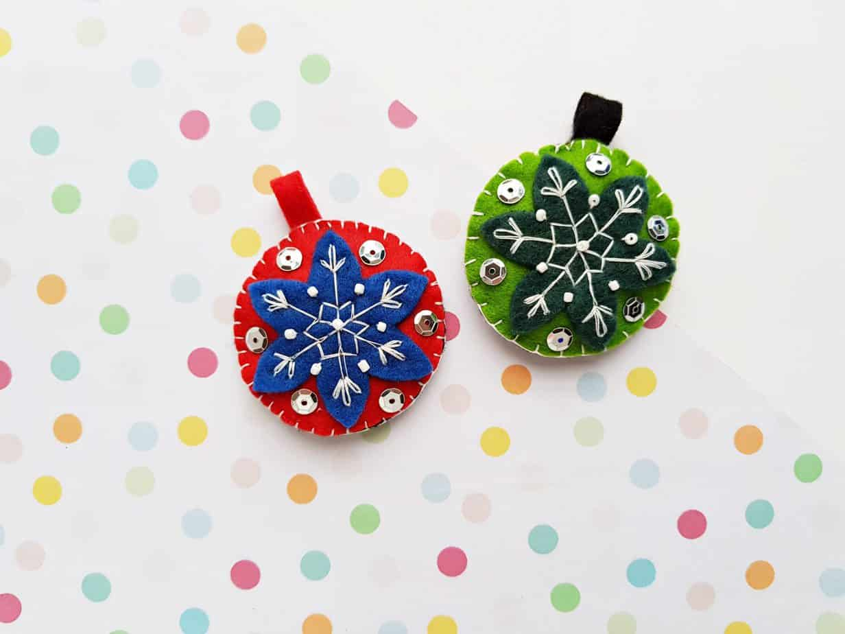 Felt Ornaments DIY