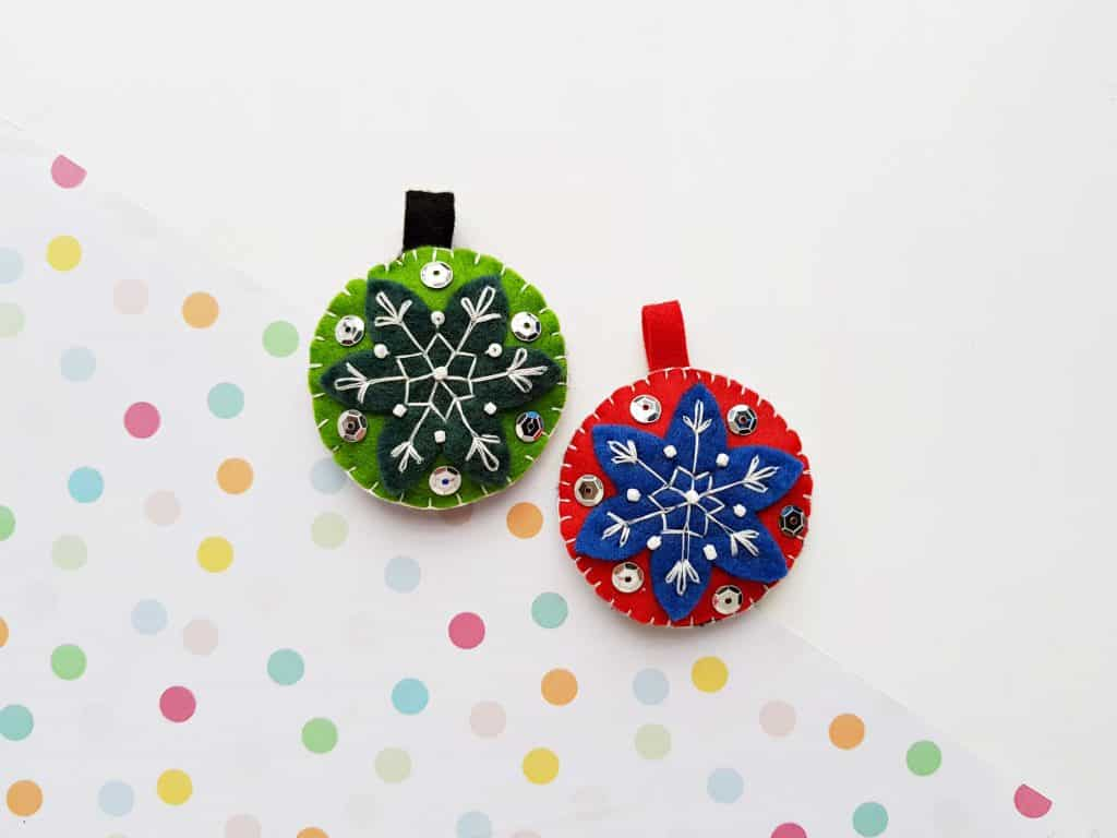 Felt Ornaments DIY 2