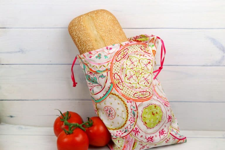 Reusable Produce Bags Sewing Pattern & Tutorial – Beginner Sewing Projects