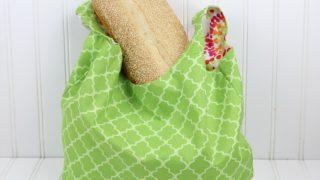 Reversible Shopping Bag Pattern - It's free!