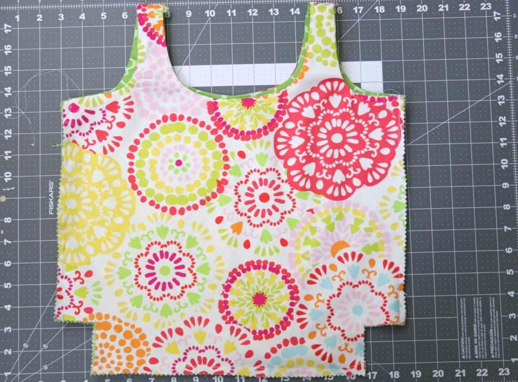 Reversible Shopping Bag Step 7