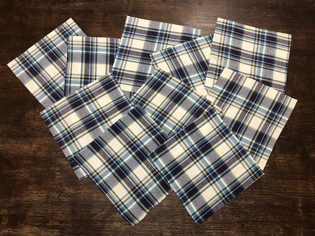DIY Flannel Hankies