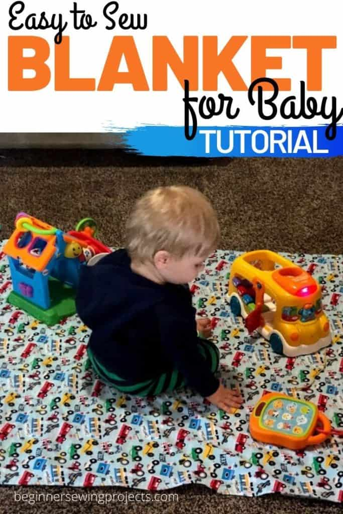 Sew Easy Flannel Baby Blanket How To