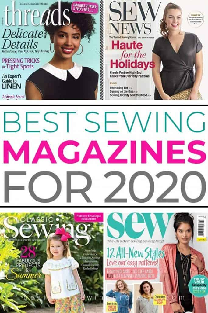 Best Sewing Magazines for Beginners