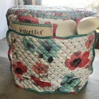Instant Pot Cover with Pioneer Woman Placemats