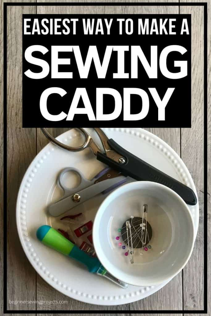 DIY Magnetic Sewing Caddy