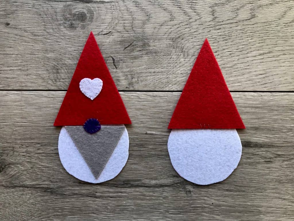 Stitching a Gnome with Felt