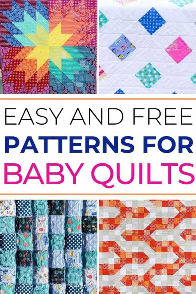 Easy and Free Patterns for Baby Quilts