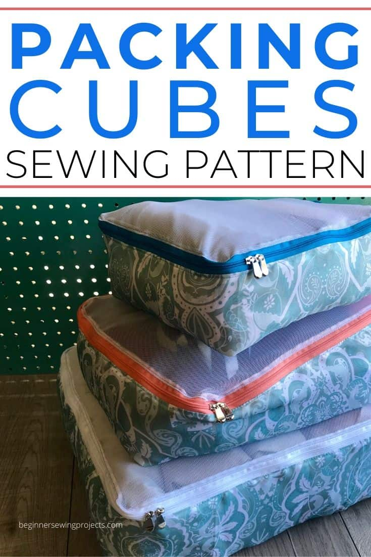 Packing Cubes Sewing Pattern