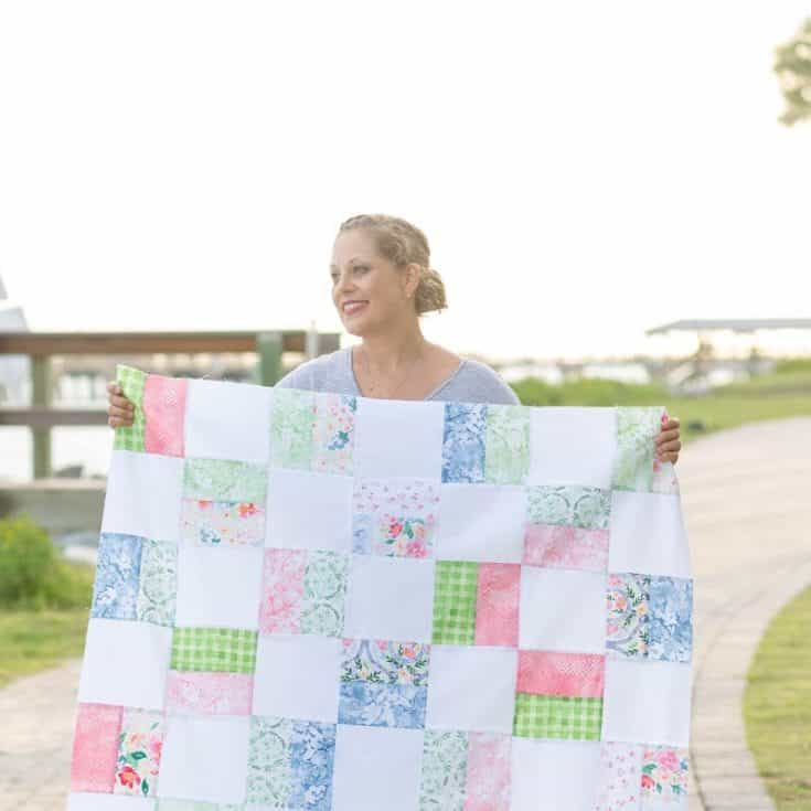 Free Baby Quilt Pattern For Beginners - Baby Girl Quilt Pattern