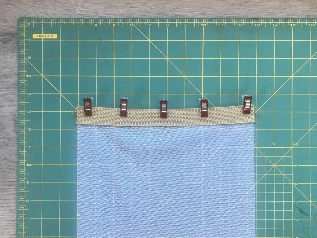 Hanging Mesh Produce Bags for Storage Sewing Project
