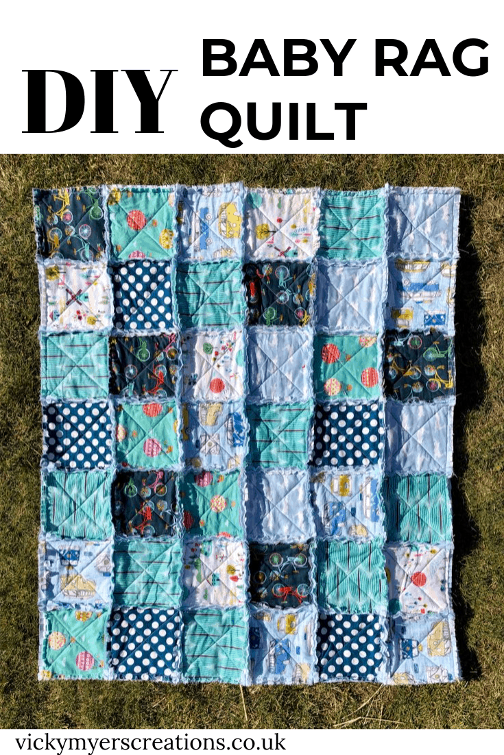 How to make a baby rag quilt