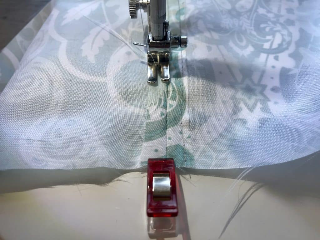 Packing Cube Sewing Pattern Step 5