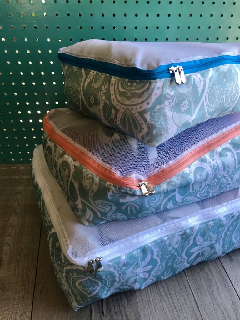 Packing Cubes Sewing Pattern 1