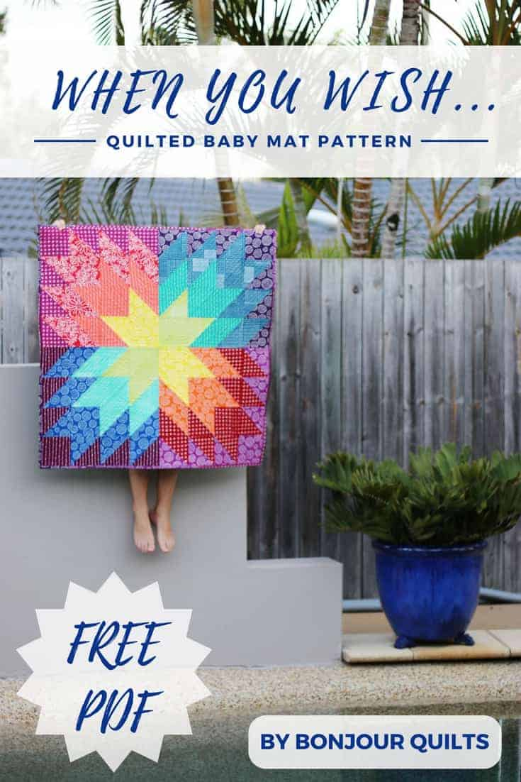 When You Wish...Baby Quilt Pattern