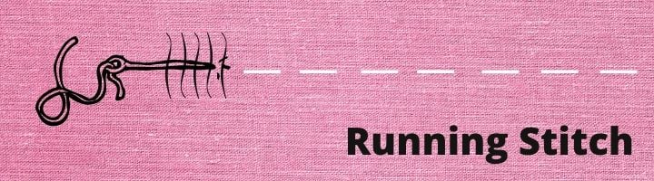 How to Sew a Running Stitch by Hand