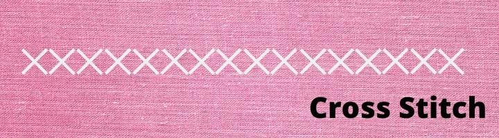 How to Sew a Cross Stitch by Hand