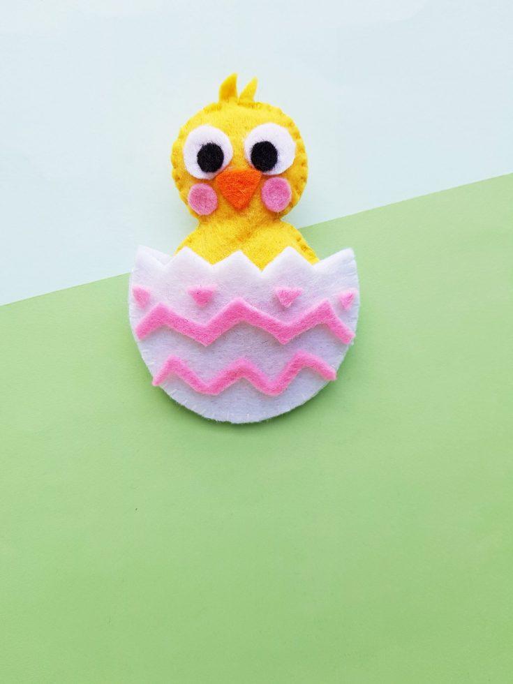 Easter Chick Felt Plush DIY