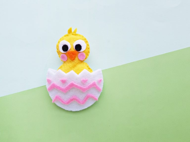 Easter Chick Felt Plush
