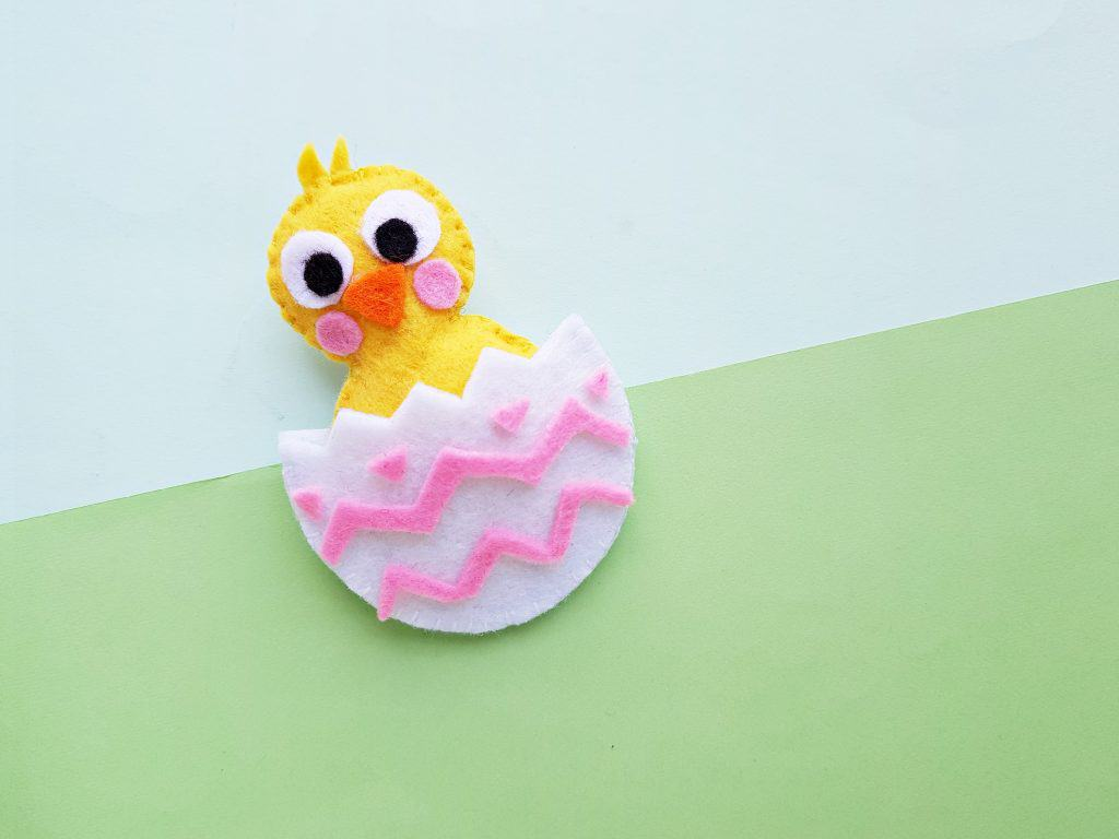 Easter Chick Felt Plush DIY