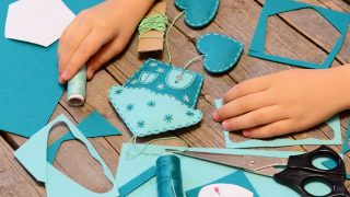 Felt Crafts for Kids to Sew