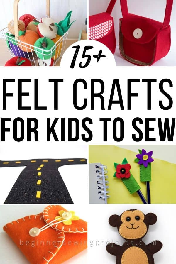 Felt Kid Crafts to Sew