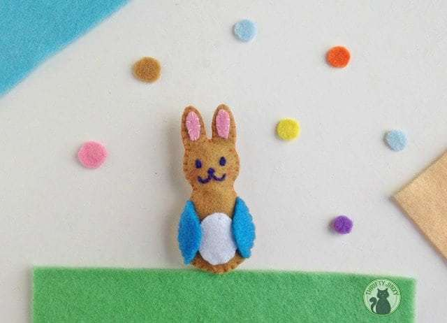Peter Rabbit Craft with Felt