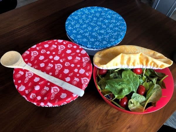 DIY Reusable Elastic Bowl Covers Sewing Project