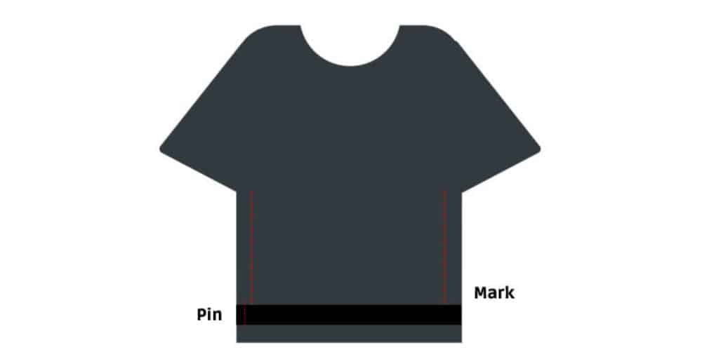 Over sized shirt alteration
