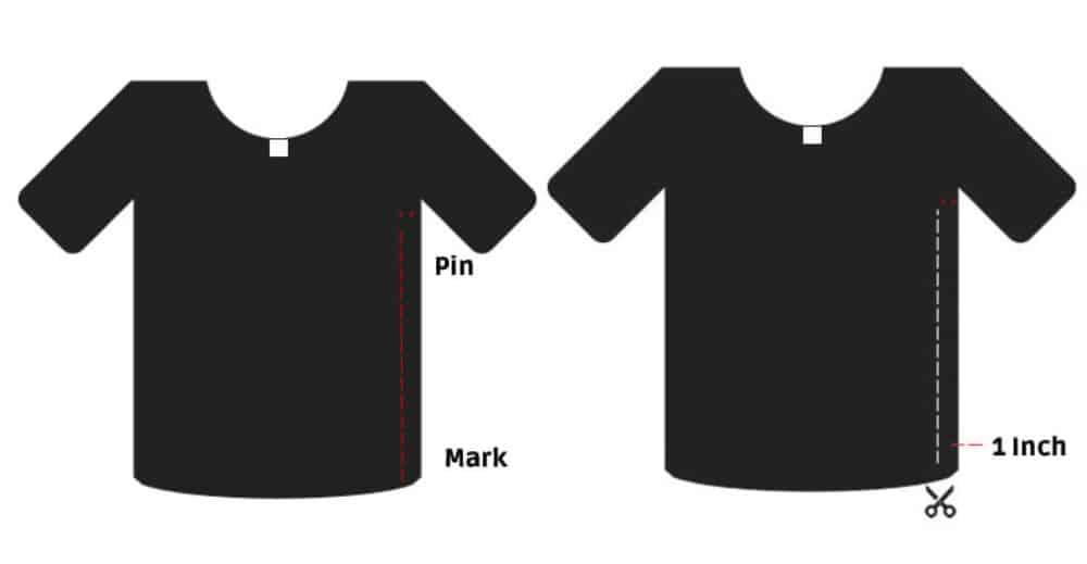 T Shirt Sewing Alteration