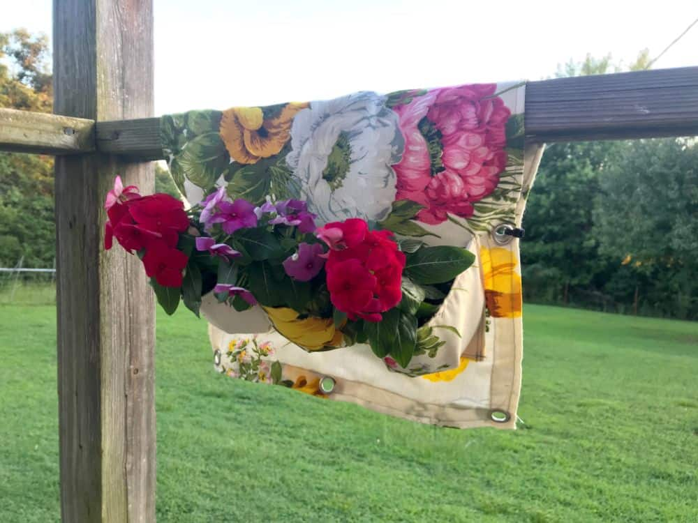 DIY Deck Rail Planter