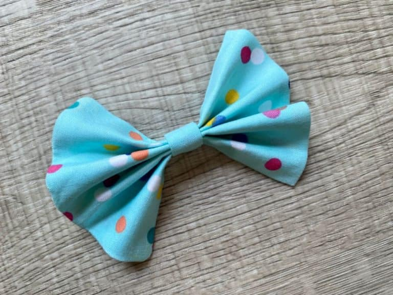 How to Sew a Fabric Bow – Beginner Sewing Projects