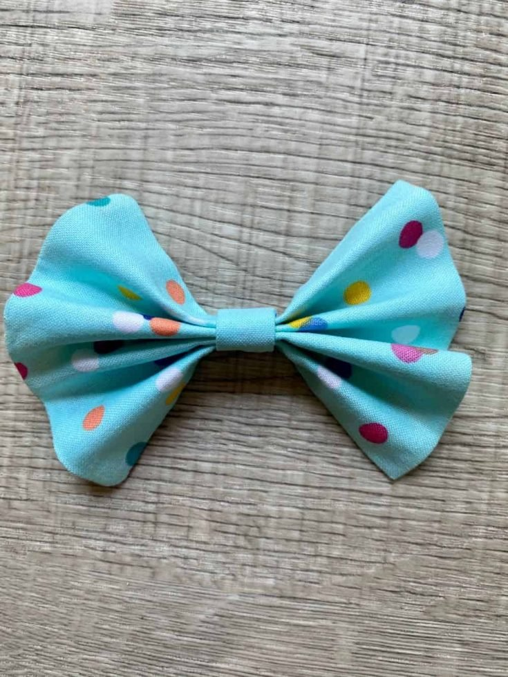 How to Sew a Fabric Bow