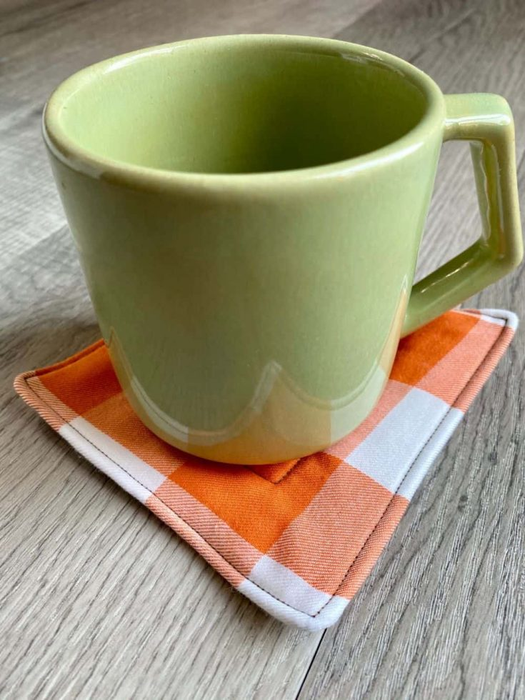 Easy Fabric Coasters