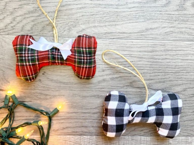 DIY Dog Ornament – Beginner Sewing Projects